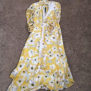 Banana republic size 2 NWT maxi hi lo dress